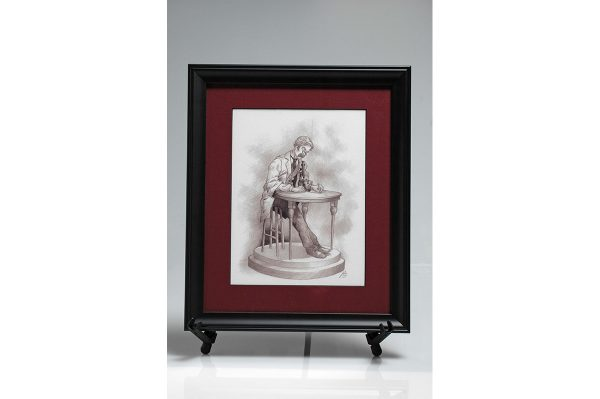 The Pathologist Framed Print