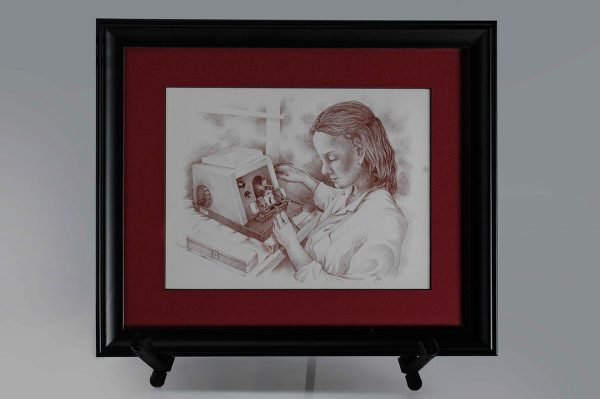 The Histologist II Framed Print