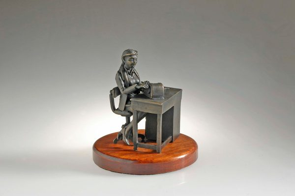 The Histologist II Pewter Figurine