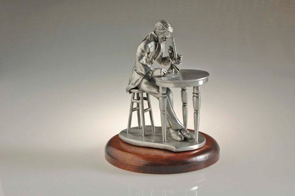 Pathologist Pewter Figurine